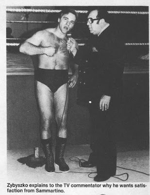 Wrestling scene pictures 1983