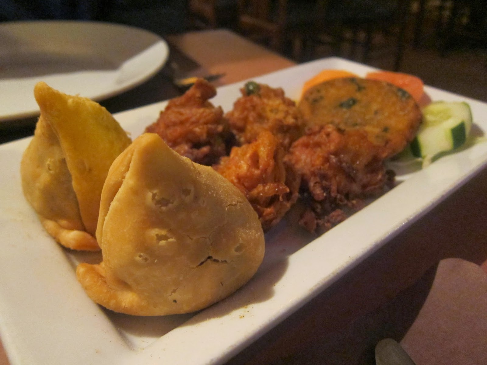 #Vegetarian Platter from India Palace in Somerville | The Economical Eater