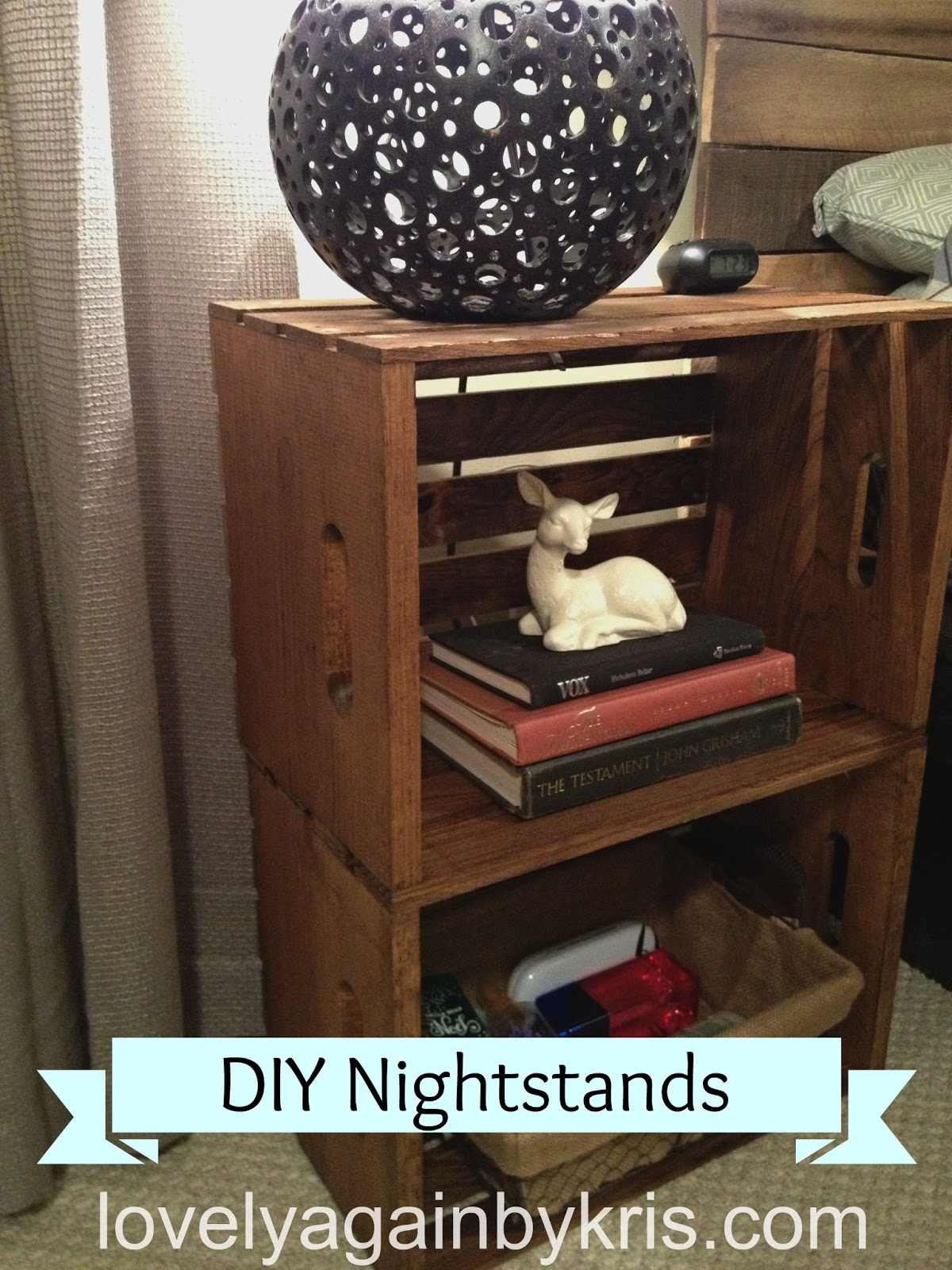 Someday crafts diy nightstands for Cheap diy nightstand