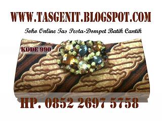 TAS PESTA BATIK, tas batik, dompet pesta batik, clutch bag batik