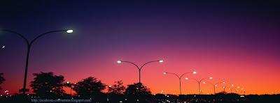 Couverture journal facebook ville la nuit