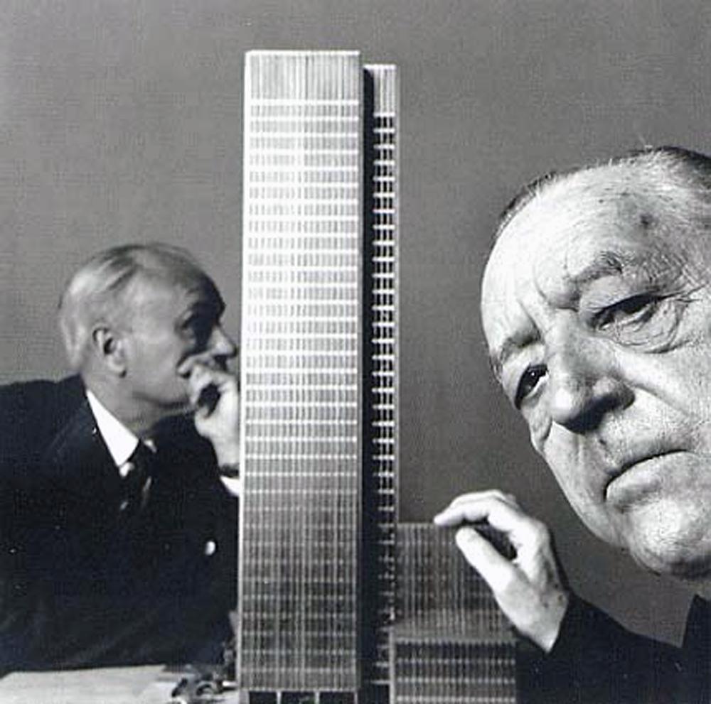 El edificio seagram de ludwig mies van der rohe for Mies van der rohe