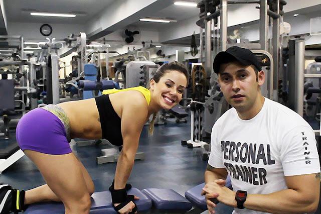 treino de musculacao na academia planet sports