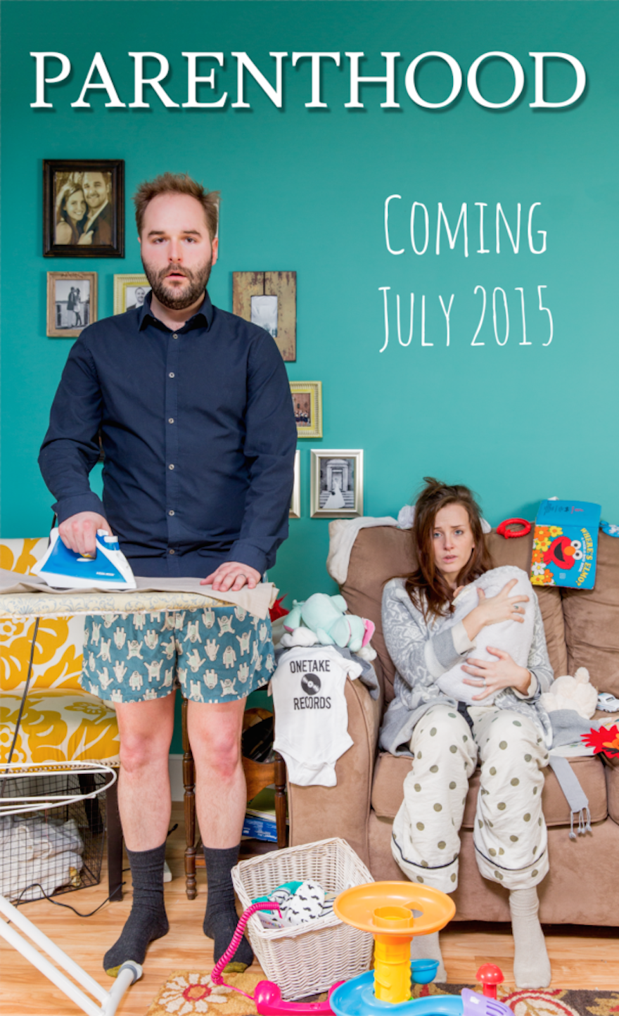 30 Of The Most Creative Baby Announcements Ever - A Sneak Preview Of What's To Come