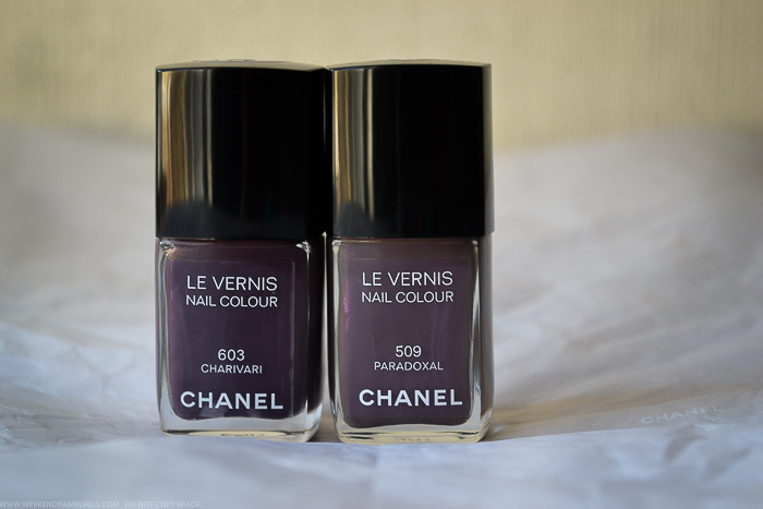 Chanel Charivari Nail Polish - Swatches Comparisons - Paradoxal