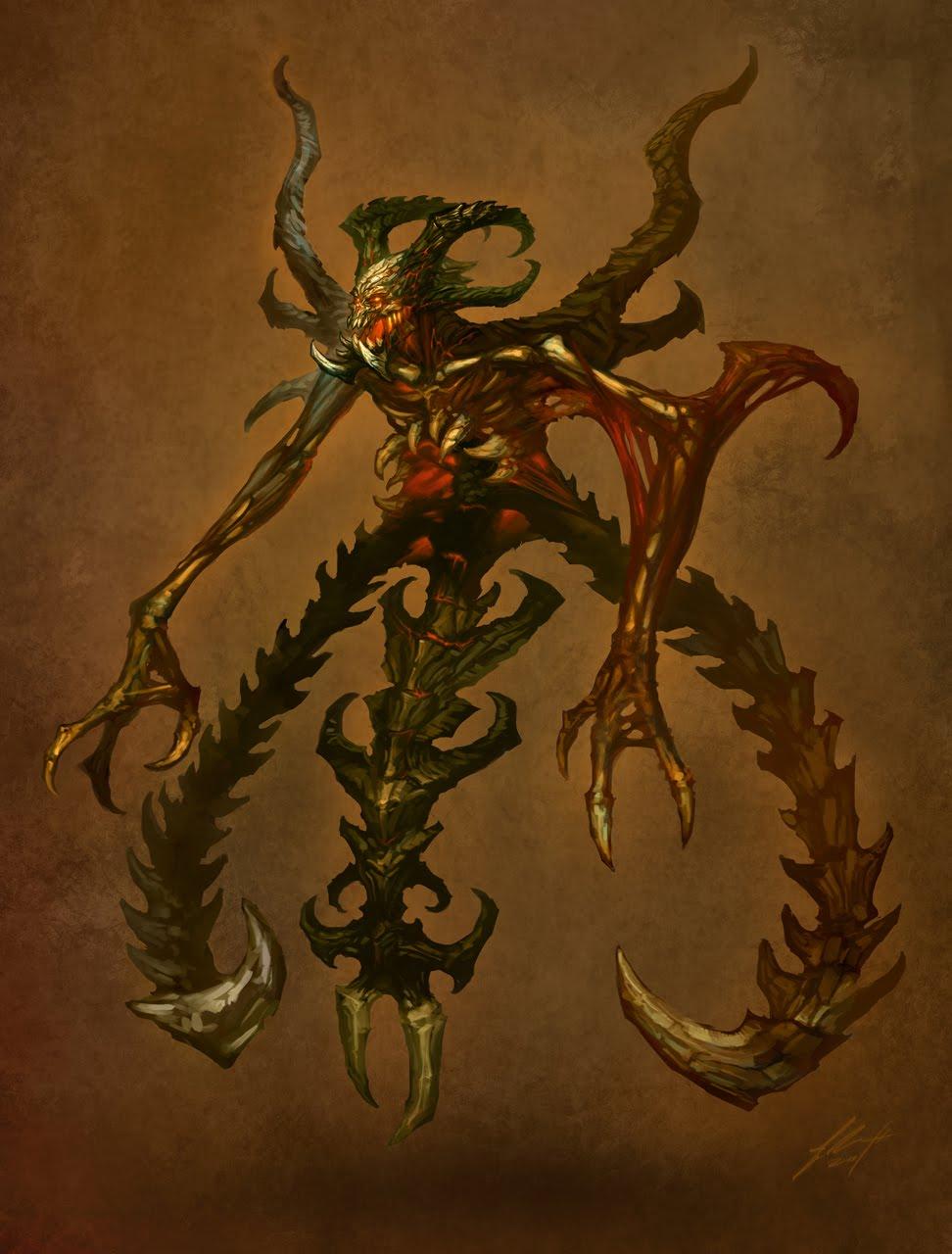 Diablo 2 Mephisto Art