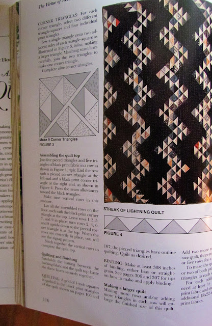 Streak of Lightning Quilt Pattern