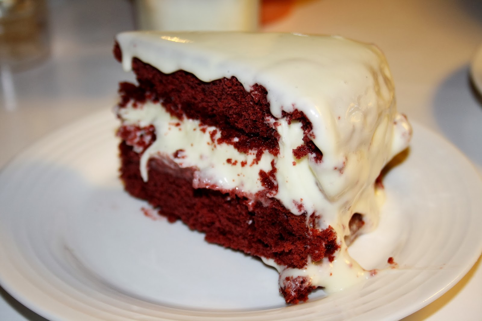 Red velvet cake roy fares recept