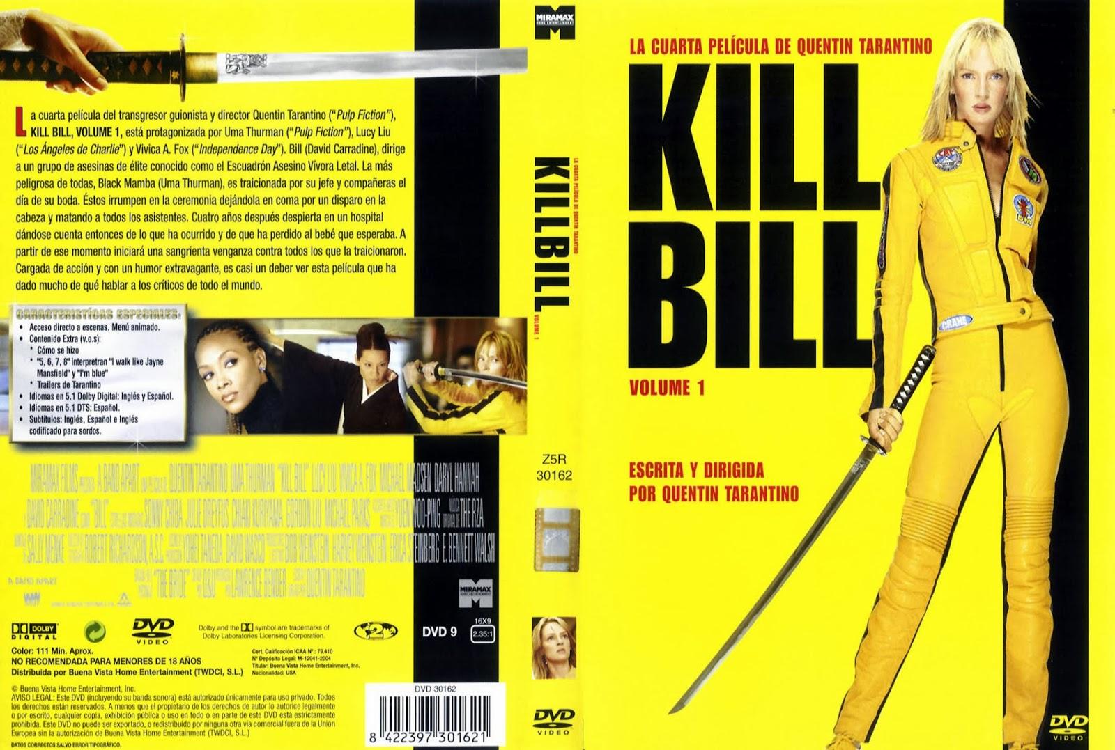 Kill Bill Volumen 1 DVD