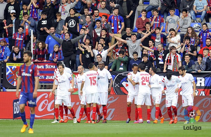 Crónica Eibar 1 Vs Sevilla FC 3