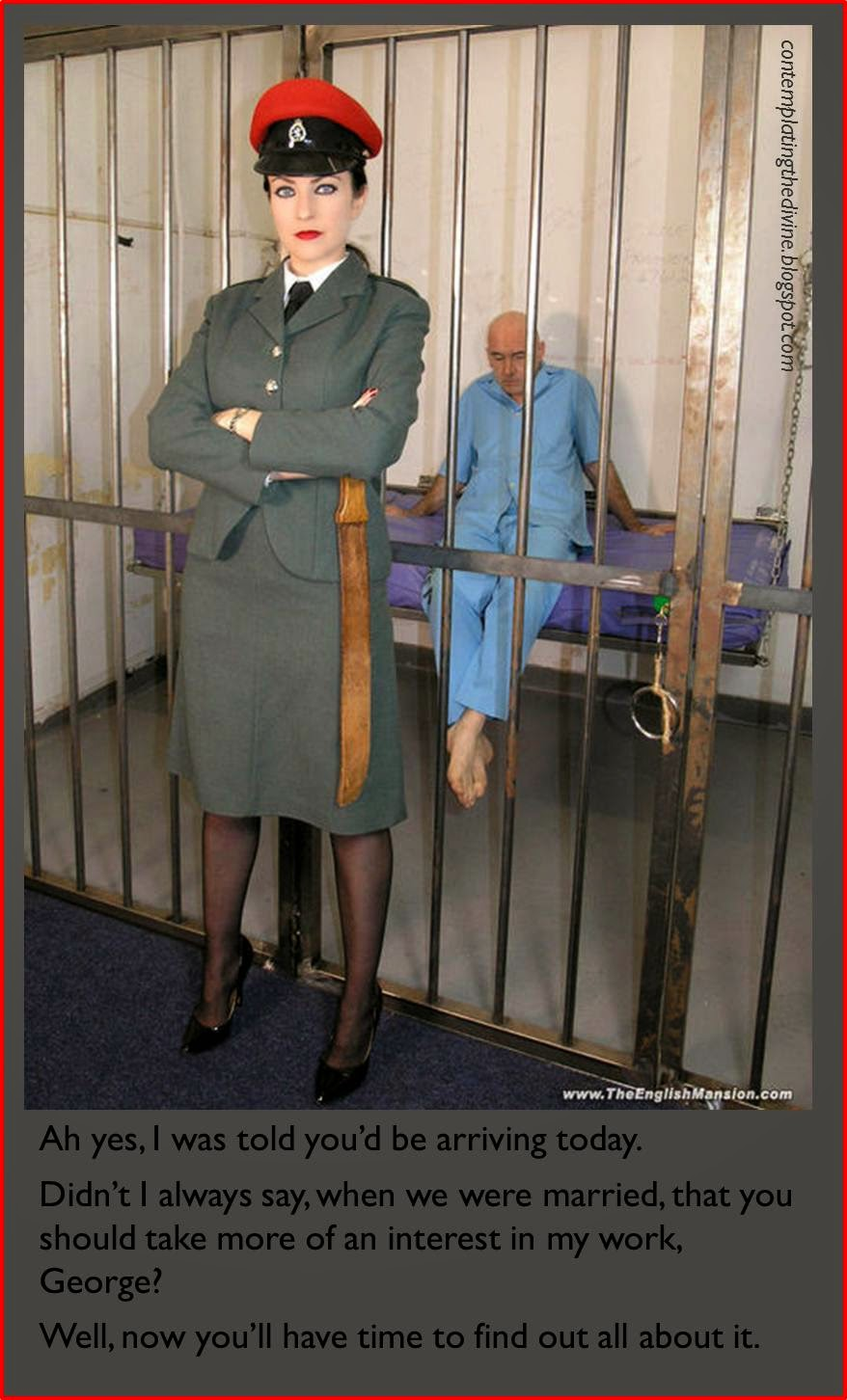 Prison femdom mistress