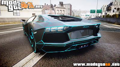 IV - Lamborghini Aventador TRON Edition [EPM] Updated