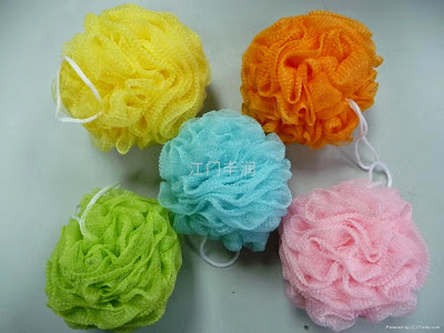 Learn to make two Exfoliating sponges for bathing Loofah nylon remove dead cells  healthy skin