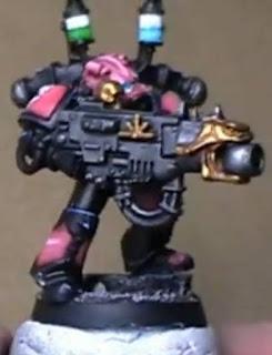Cómo pintar un Marines Espacial del Caos de los Hijos del Emperador