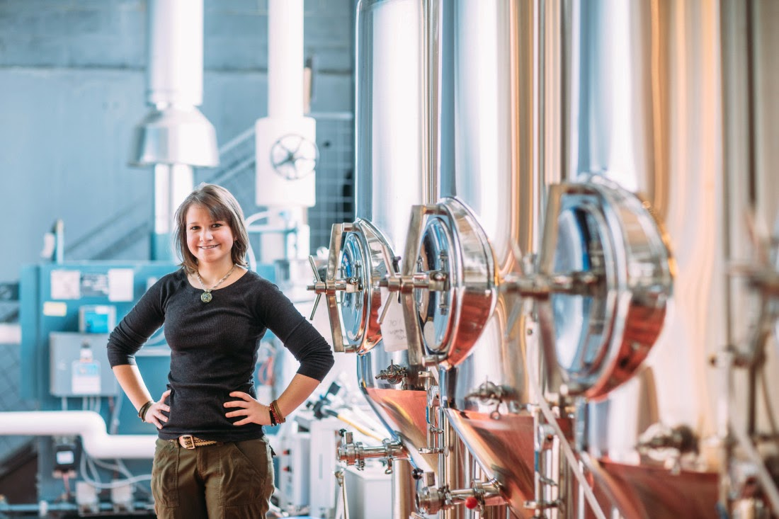 Life in her boots: Asheville's women brewers