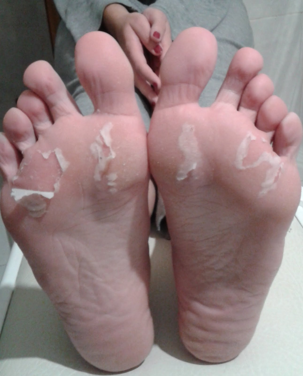 the [not so] girly girl: review | asian foot peel mask from