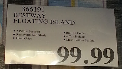 Deal for the Bestway Tropical Breeze Floating Island at Costco