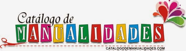 CATÁLOGO DE MANUALIDADES