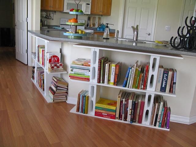 مكتبة للبيت مصنوعة بالياجور