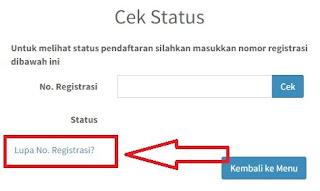 gambar lupa nomor registrasi epupns