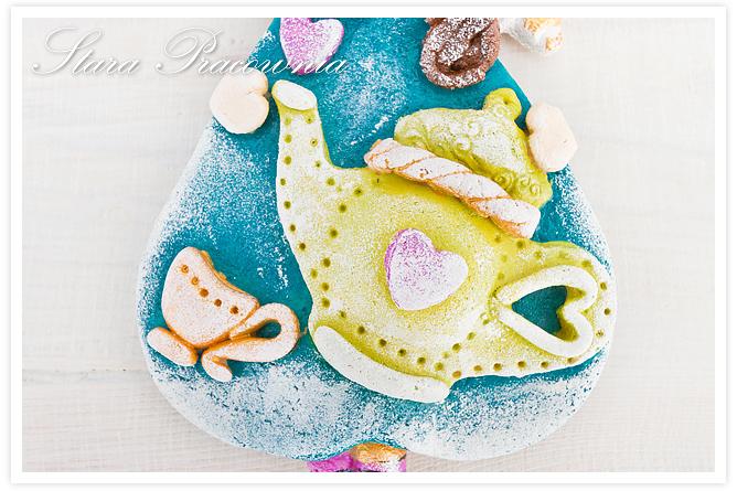 anioł anioły z masy solnej, ozdoby z masy solnej, salt dough craft