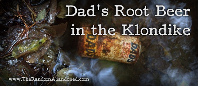 dad's root beer draft can 1970s vintage classic old alaska good rush history story abandoned skagway