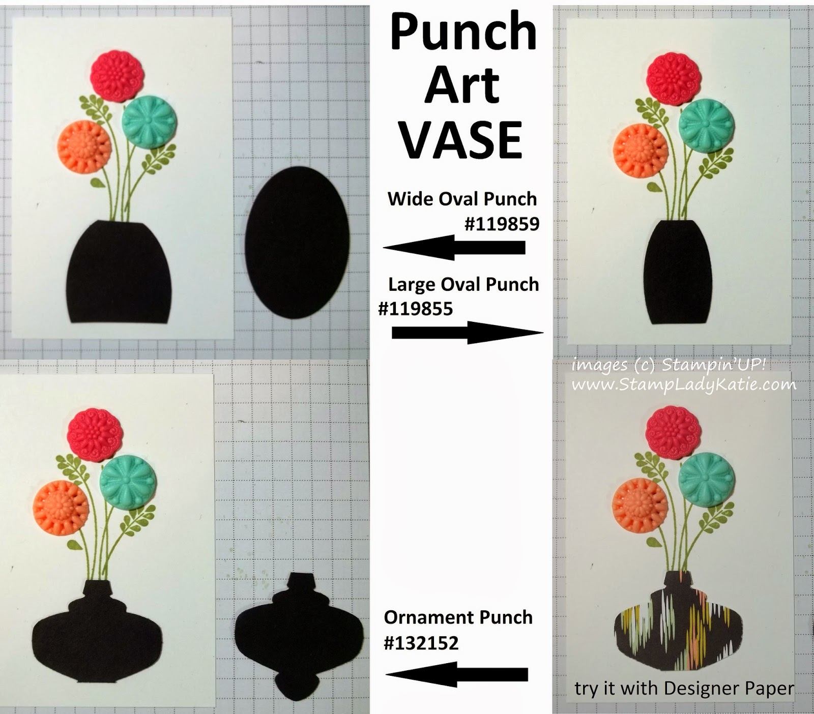 Ideas for a Punch Art Vase