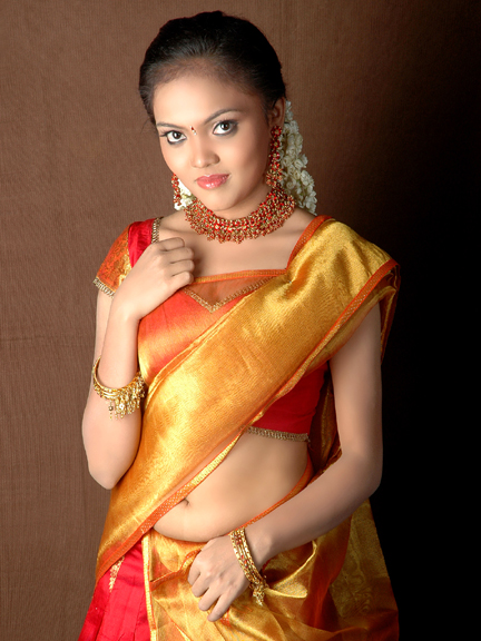Actress Nikisha Desi Traditional Styles Spicy Stills Photo Shoots Photoshoot images