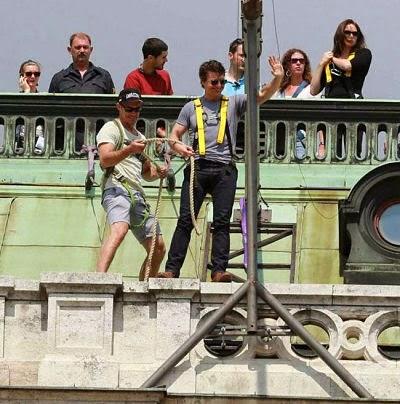 Tom Cruise en rodaje
