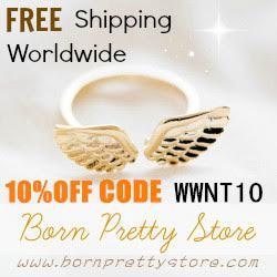 Może skorzystasz z -10% u BornPretty? Poratuj się moim kodem WWNT10.