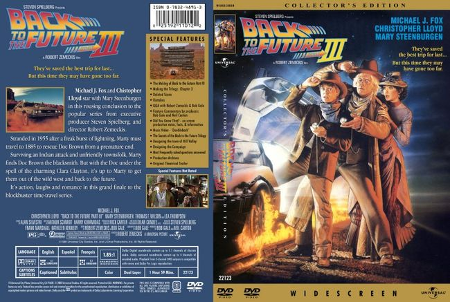 Back To The Future Part III – Latino – DVD9