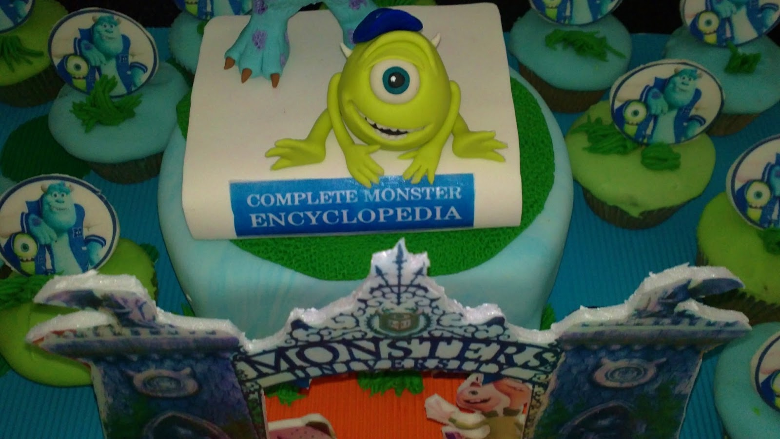 Mundo Tortas: MONSTER INC UNIVERSITY