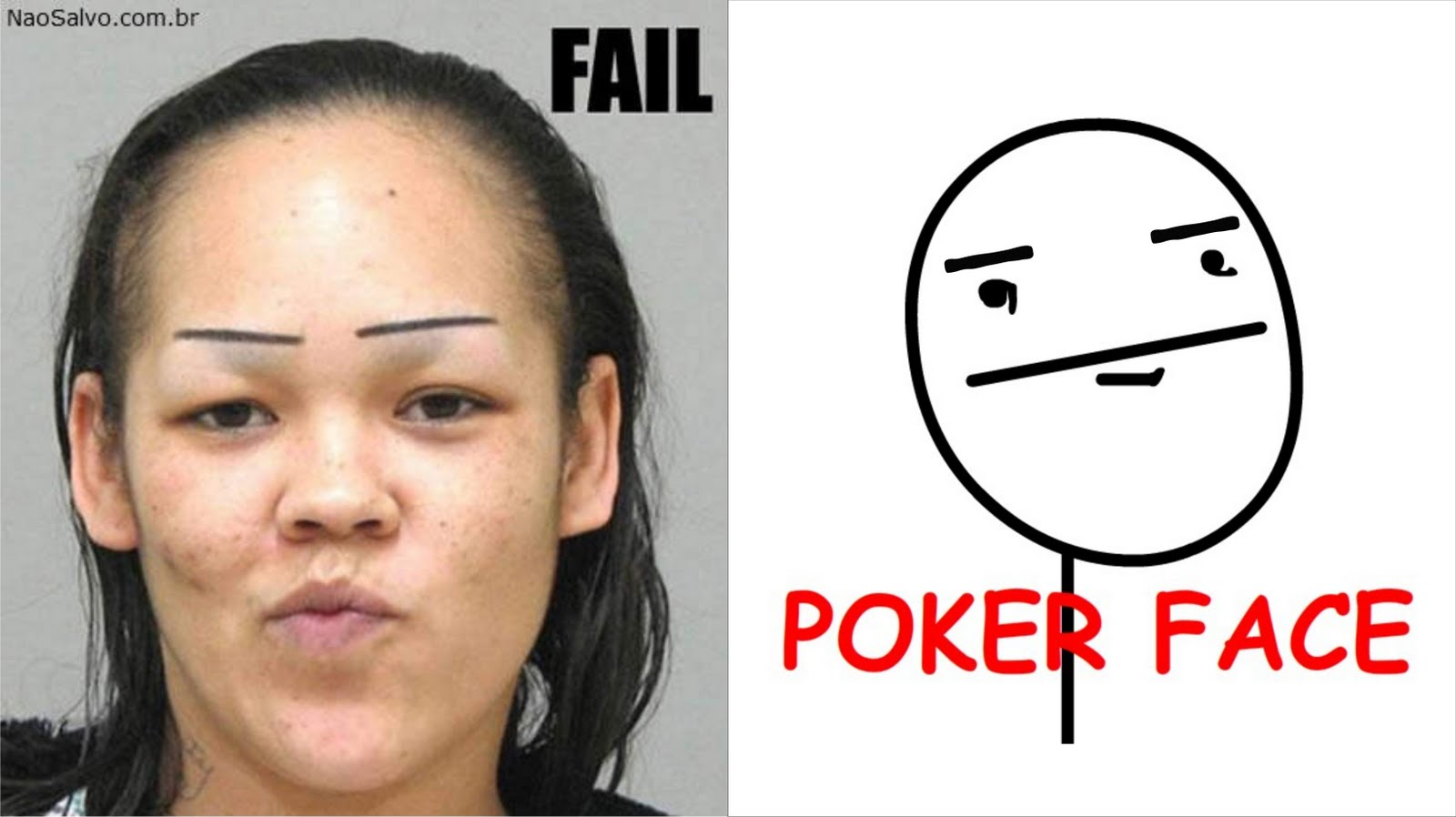 real poker face