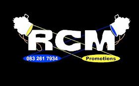 Alle klank en beligting vir Regeneration kampe en events word geborg deur RCM Promosies