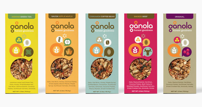G nola bars on packaging of the world creative package for Food bar packaging