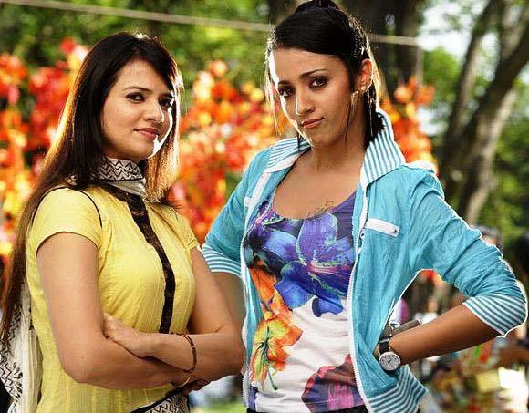 Heroine trisha krishnan Venkatesh Bodyguard telugu movie stills pics10