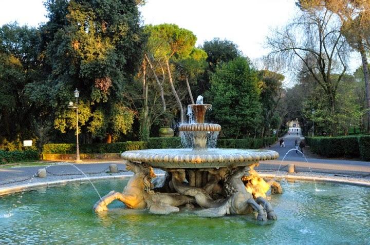 Le fontane di Villa Borghese sulle note di Ottorino Respighi: visita guidata in bicicletta