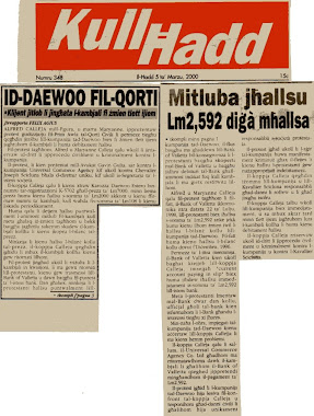31 - John Dalli and the Daewoo Scandal