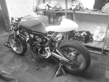 My Cafe Racer Ducati...