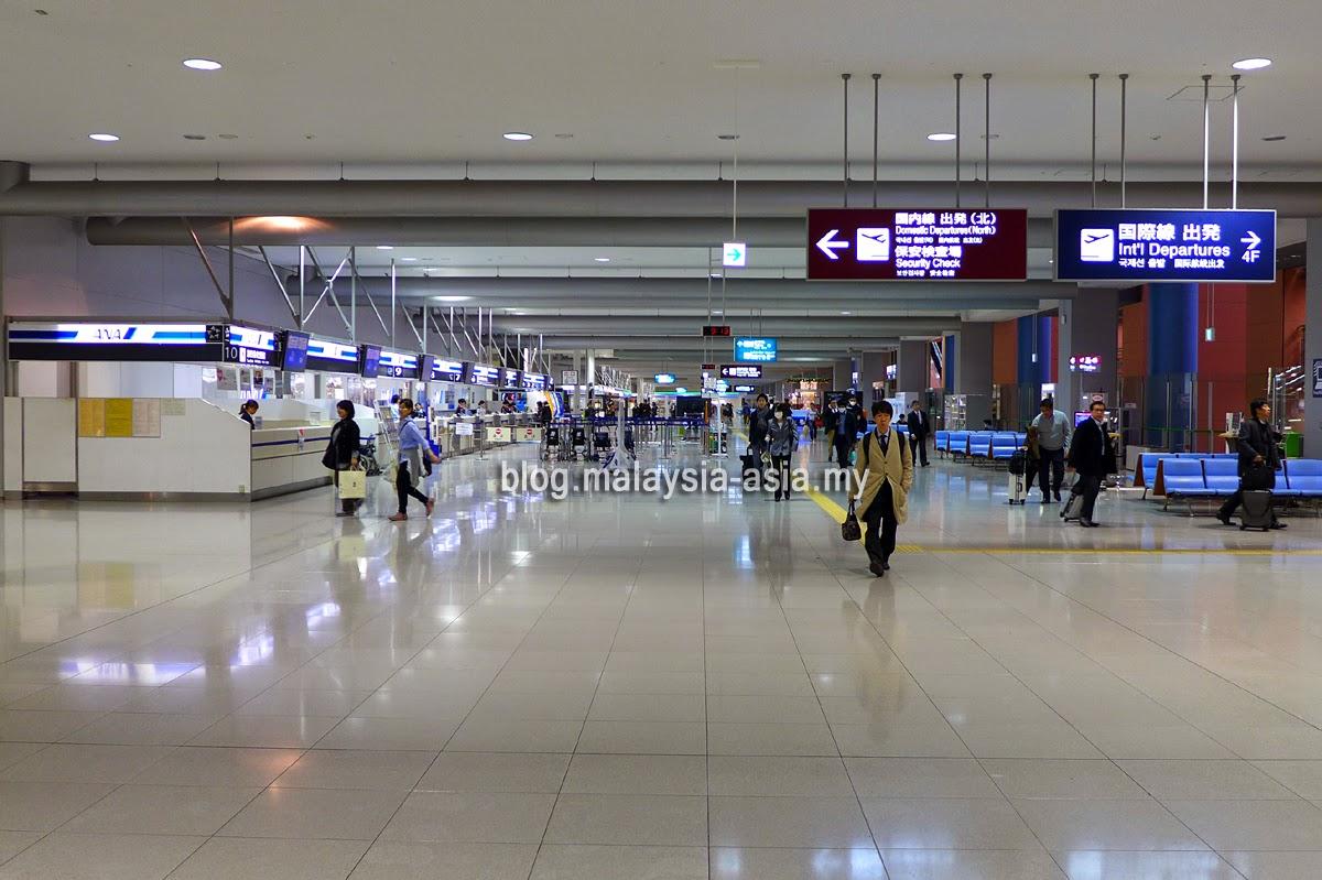 Kansai KIX domestic departure hall