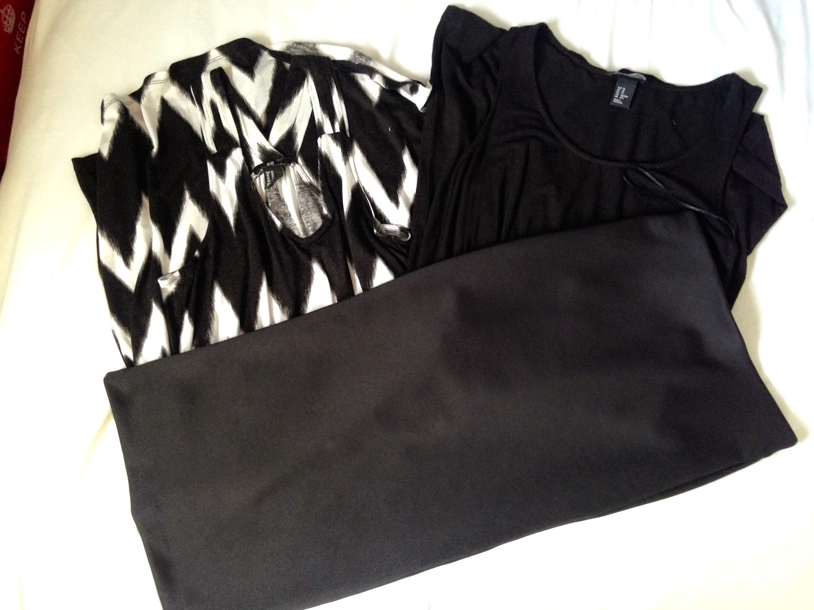 A picture of My H&M Haul Dresses and Skirt