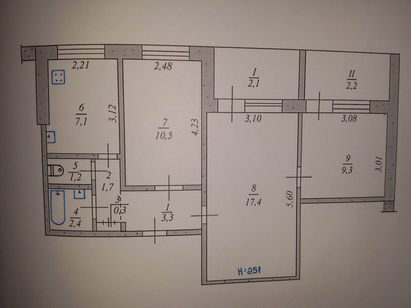 Типовые планировки квартир в городе кривой рог