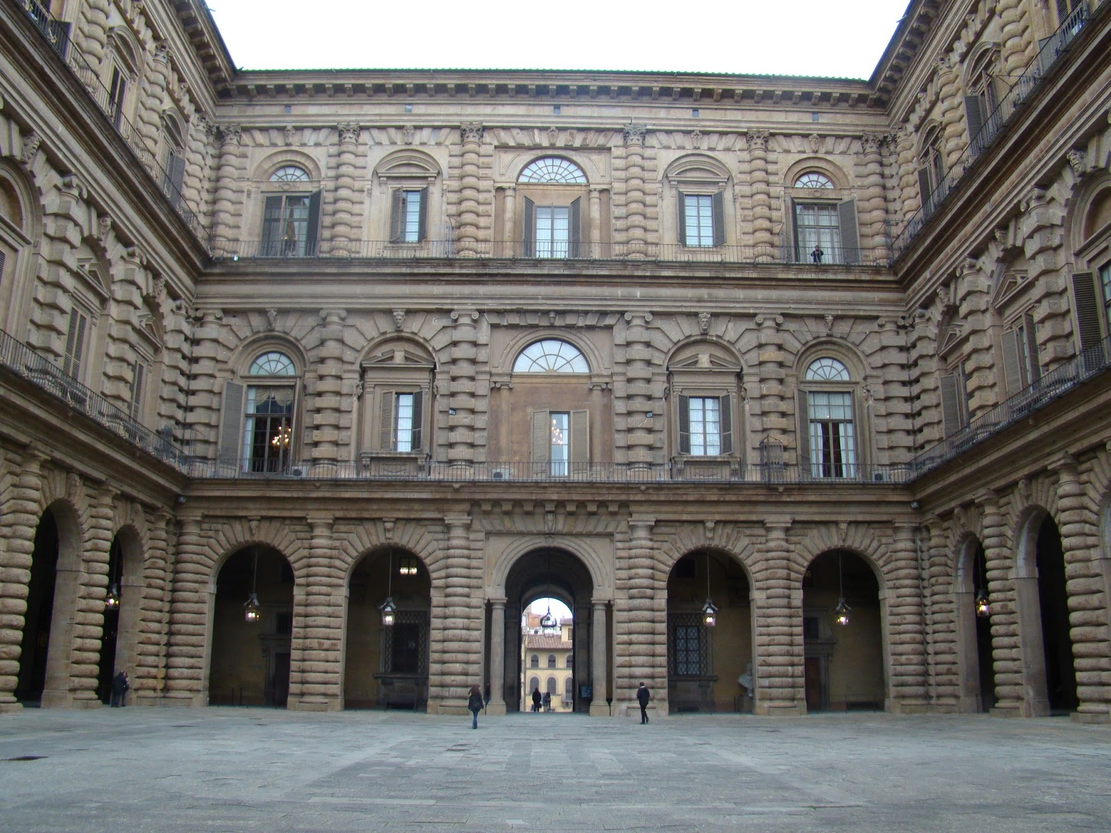 Domain boundary in the architectural world trip to for Palazzo pitti