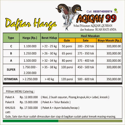 AQIQAH 99 Bandung