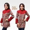 model baju batik ala pramugari
