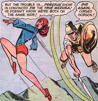 Supergirl #8, Perseus