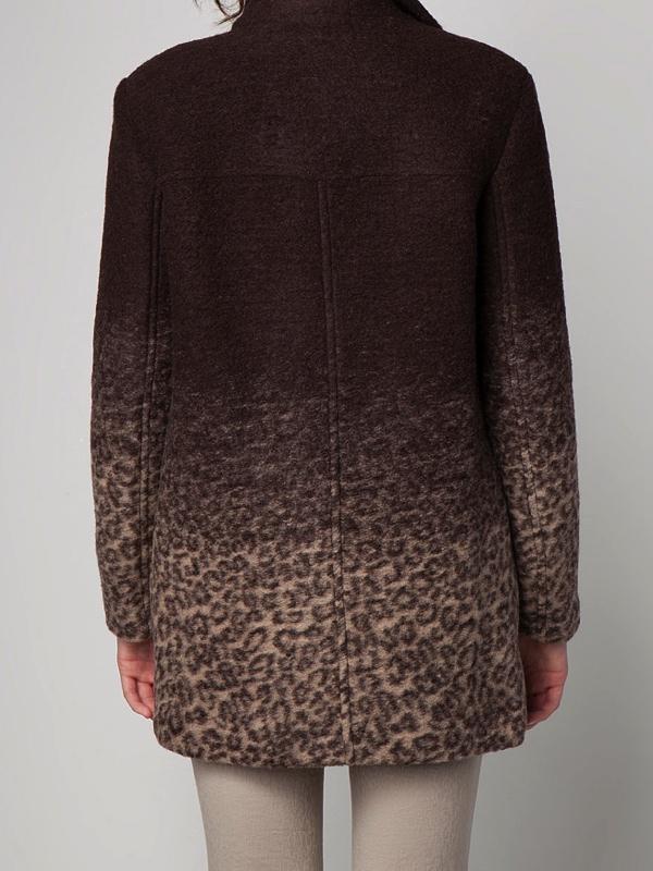 abrigo leopardo bershka
