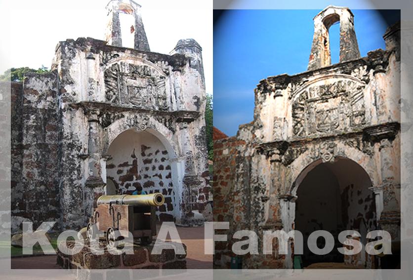Sejarah Kota A Famosa di Malaka