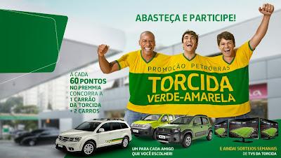 """Promoção Petrobras """"Torcida Verde-Amarela"""""""