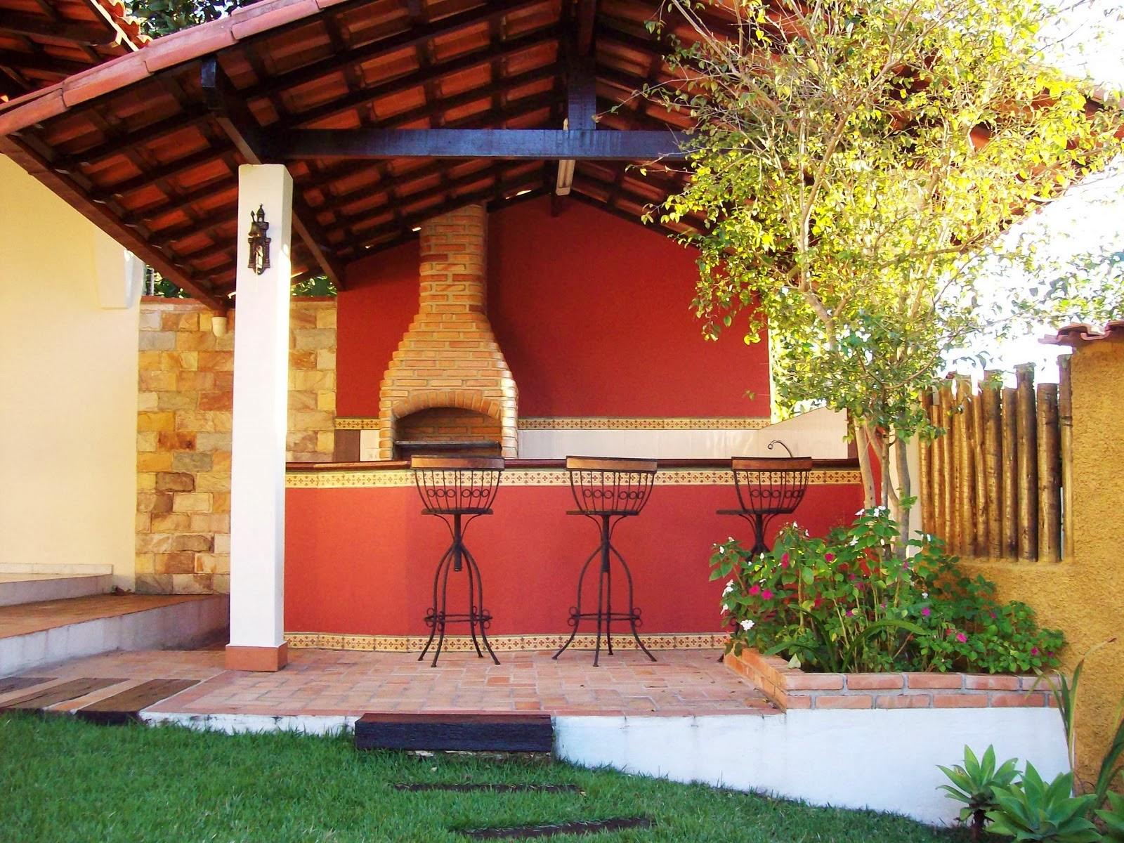 Ideias para revestir churrasqueiras! Jeito de Casa Blog de  #A28529 1600 1200